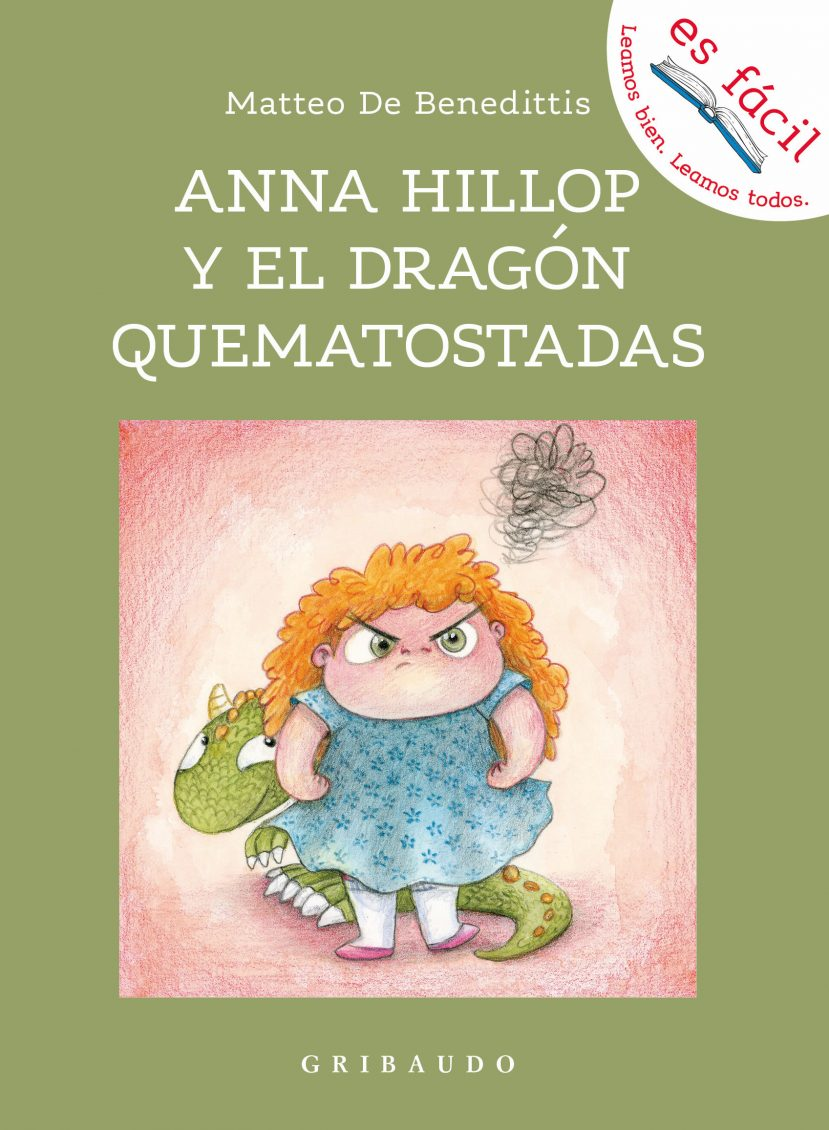 Portada Anna Hillop y el dragón quematostadas